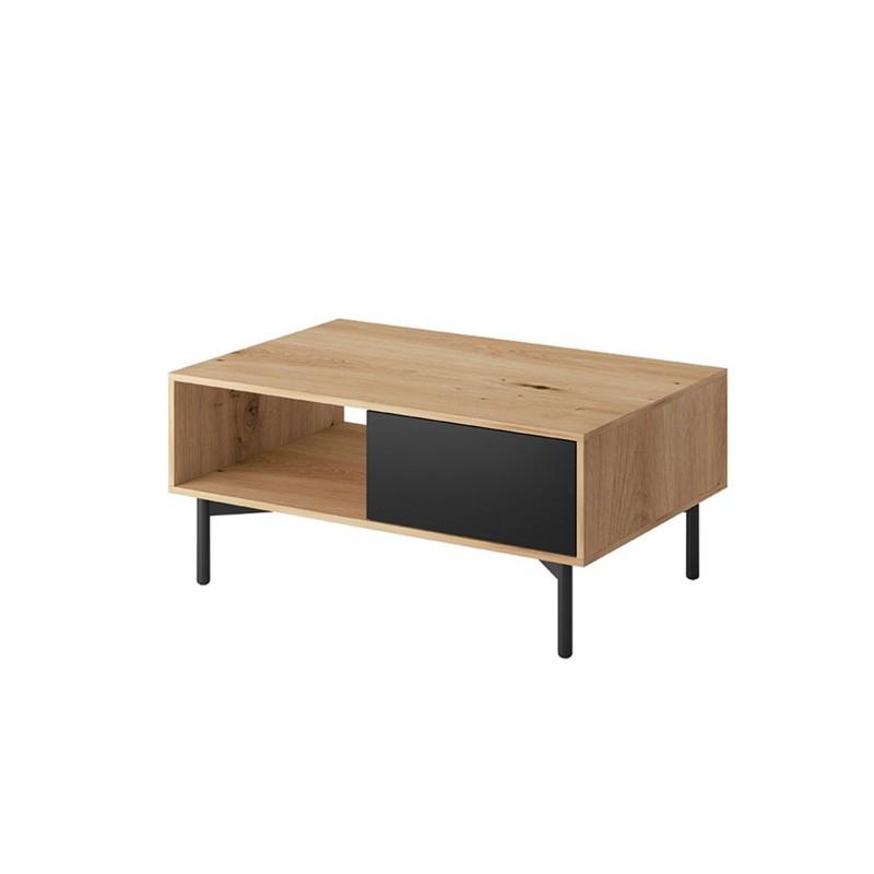 Hector Konferenční stolek Evoke 102 dub artisan/černá perleť