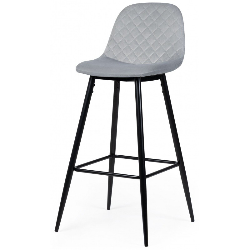 Hector Barová židle Maya šedá
