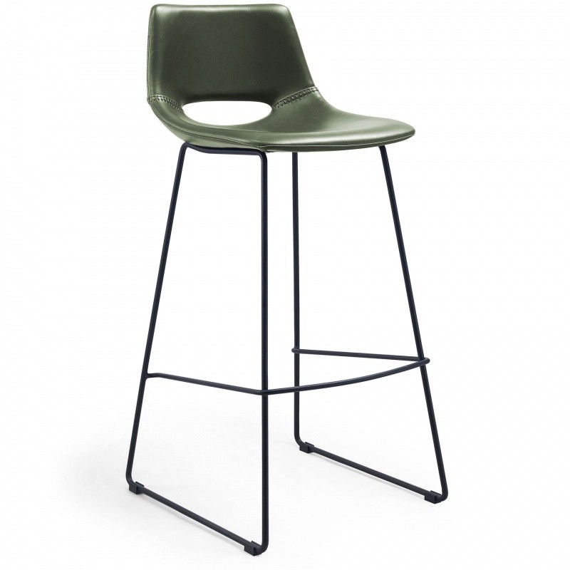 Hector Barová židle Ziggy zelená