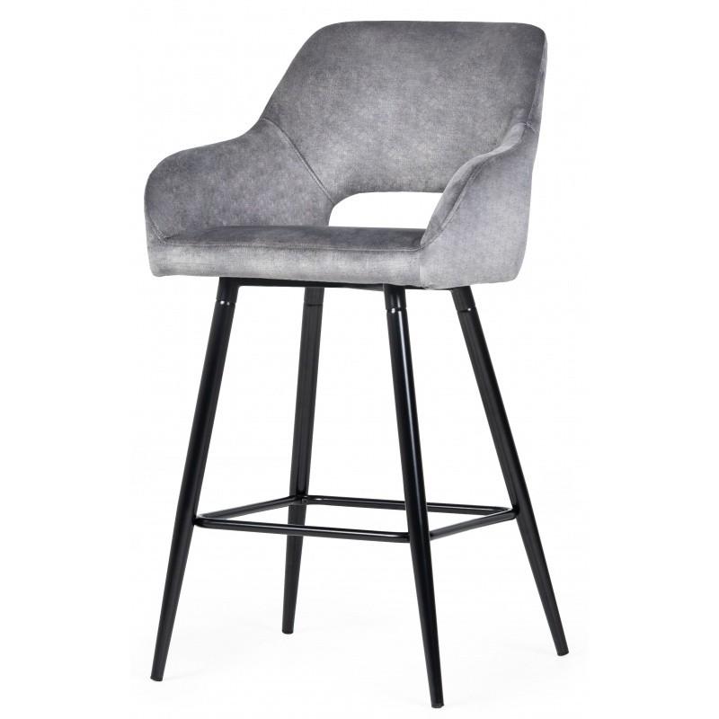 Hector Barová židle Spare šedá