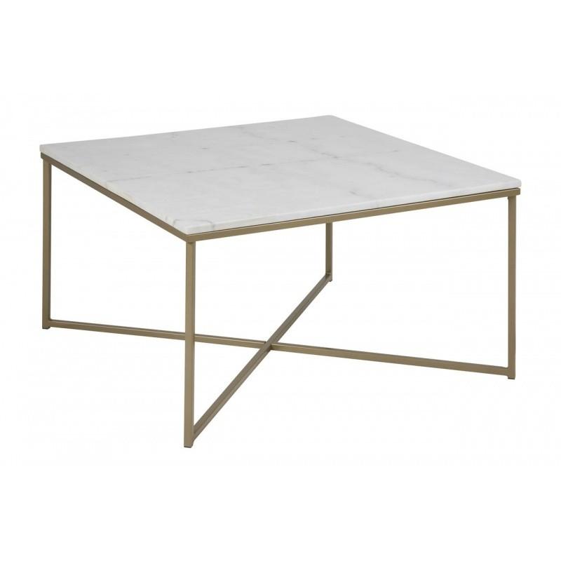 Hector Konferenční stolek Glasgow 2 mramor/kov