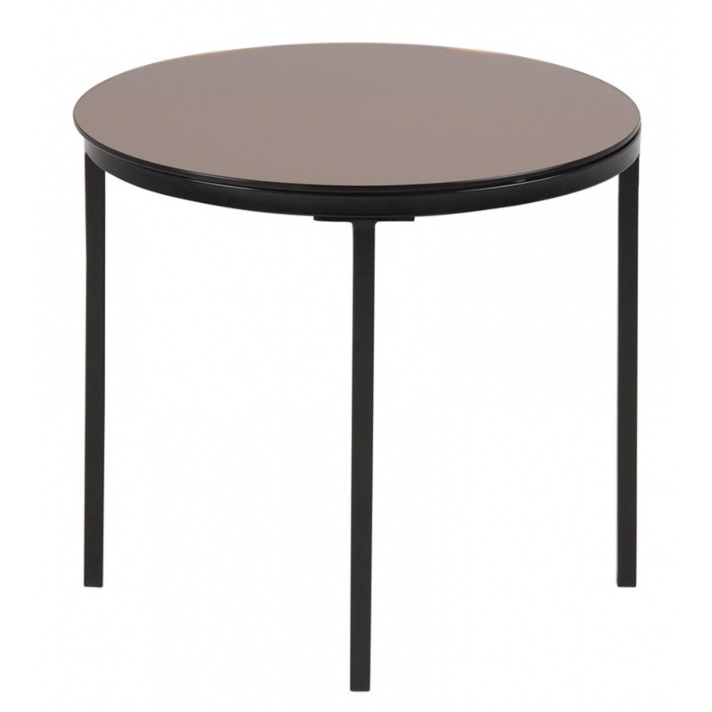 Hector Konferenční stolek Gino 1 hnědý