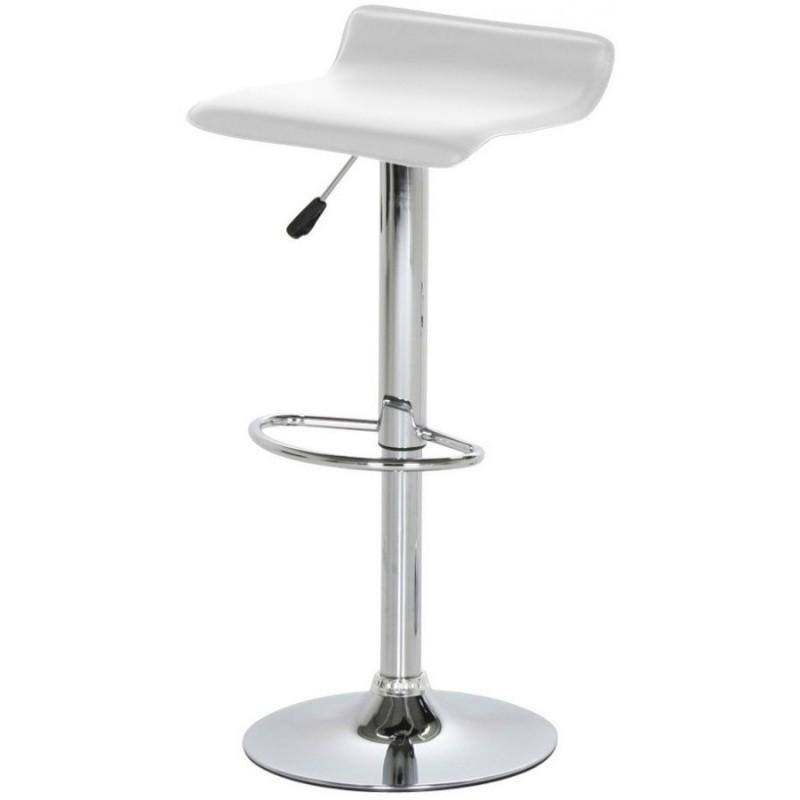 Hector Barová židle Dan bílá