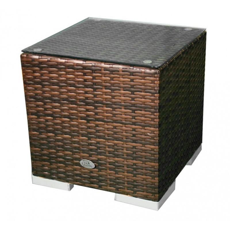 Hector Zahradní stolek Colimo II hnědý