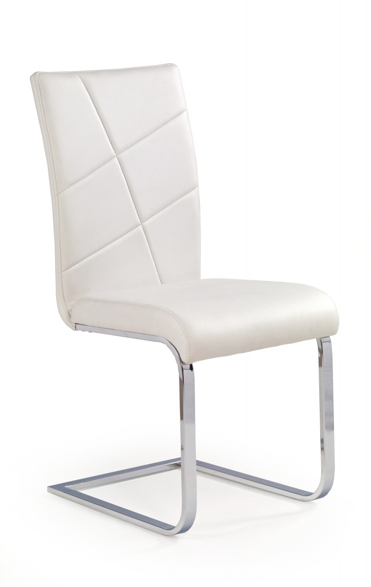 Halmar Jídelní židle Laurel bílá