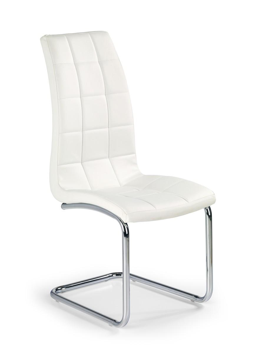 Halmar Jídelní židle Kristine bílá