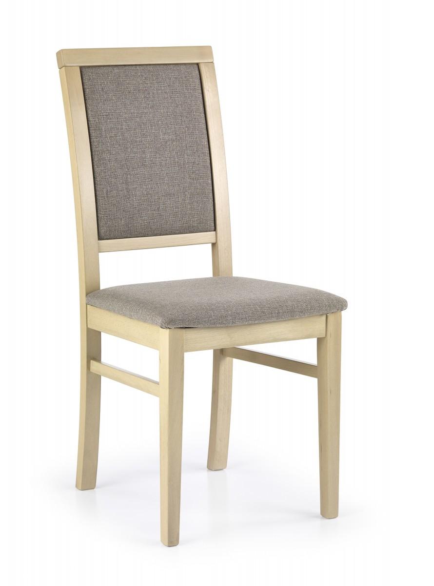 Halmar Jídelní židle Kely dub sonoma/béžová