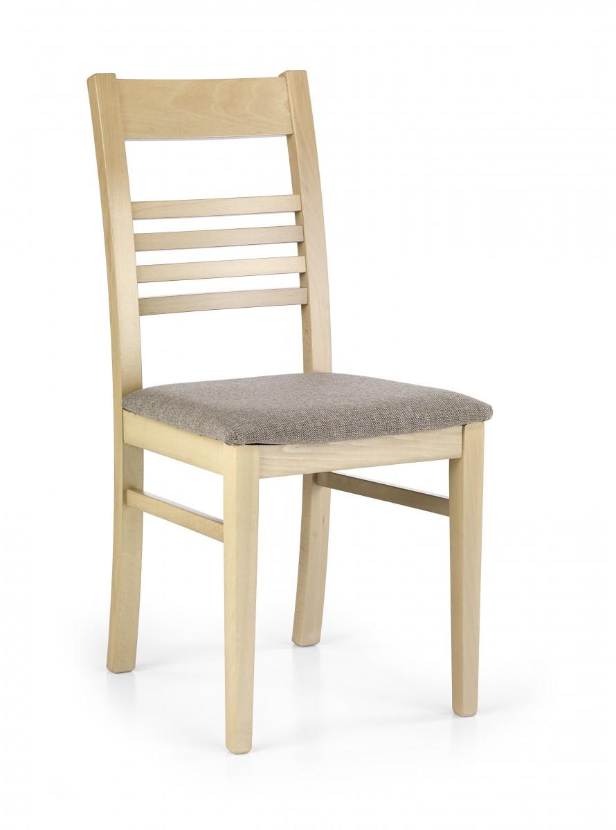 Halmar Jídelní židle Juliana dub sonoma/béžová