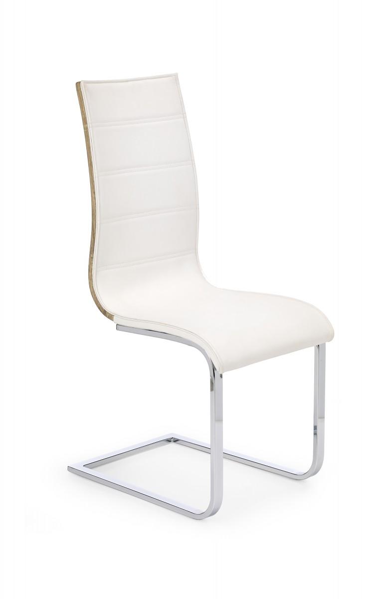 Halmar Jídelní židle Noma I bílá/dub sonoma