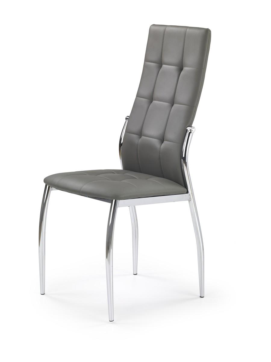 Halmar Jídelní židle Chrissa šedá