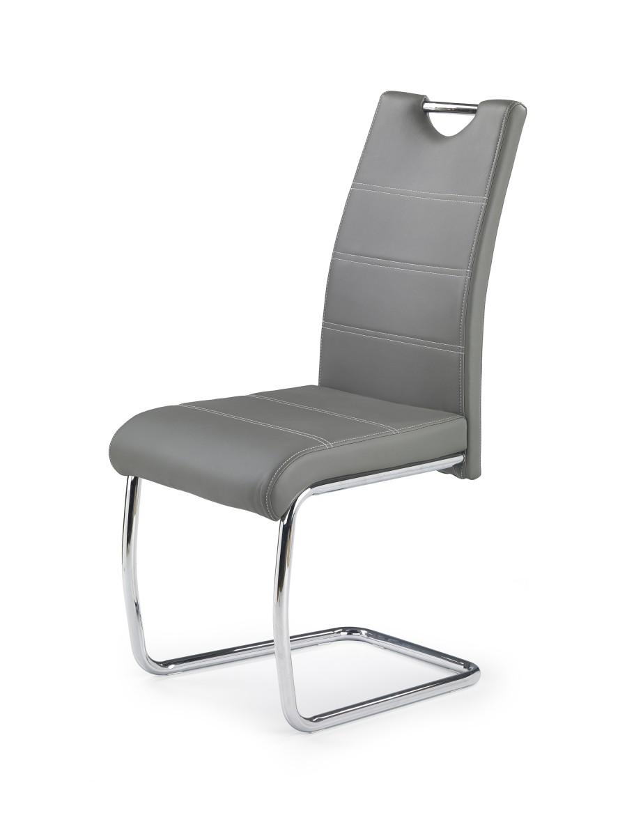 Halmar Jídelní židle Michaelle šedá
