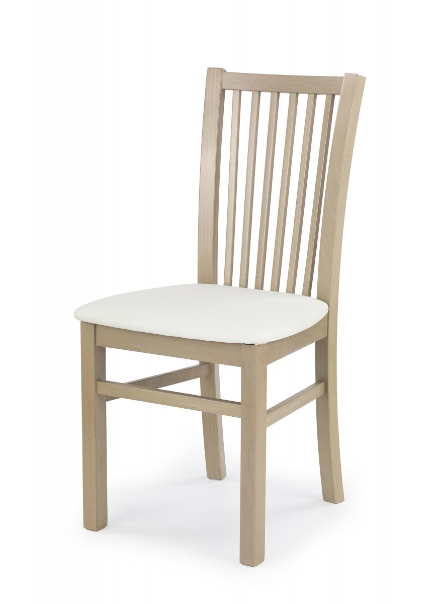 Halmar Jídelní židle Janet dub sonoma/bílá