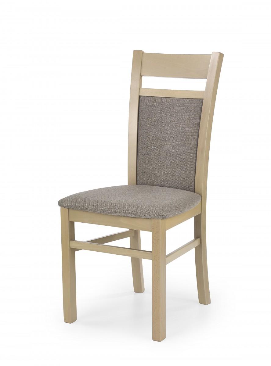 Halmar Jídelní židle Genrad dub sonoma/béžová