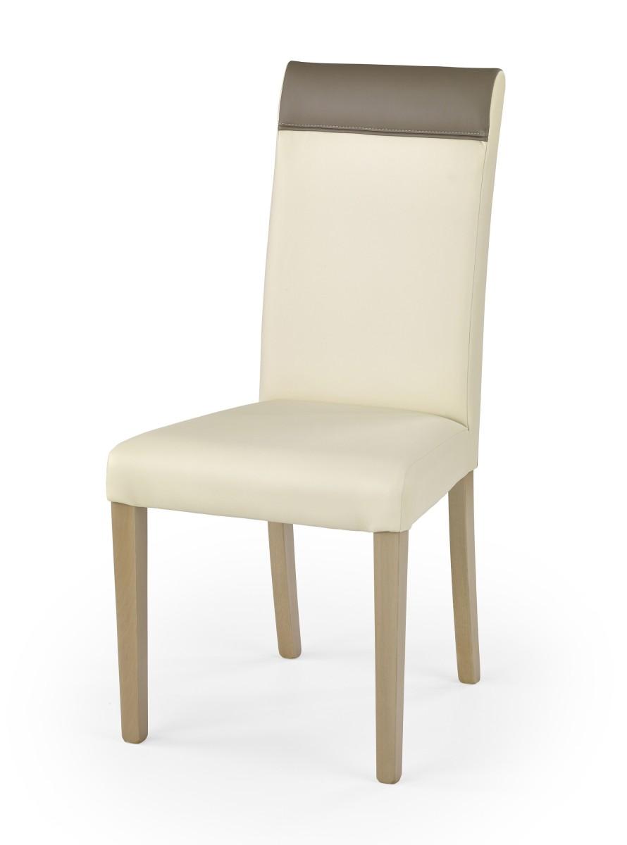 Halmar Jídelní židle Bero dub sonoma/krémová/béžová