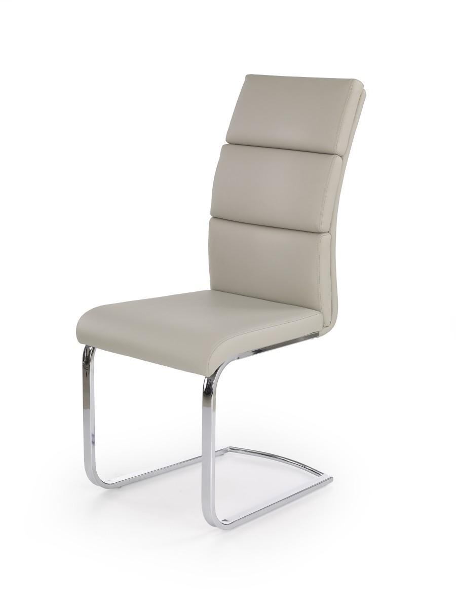 Halmar Jídelní židle Pole světle šedá
