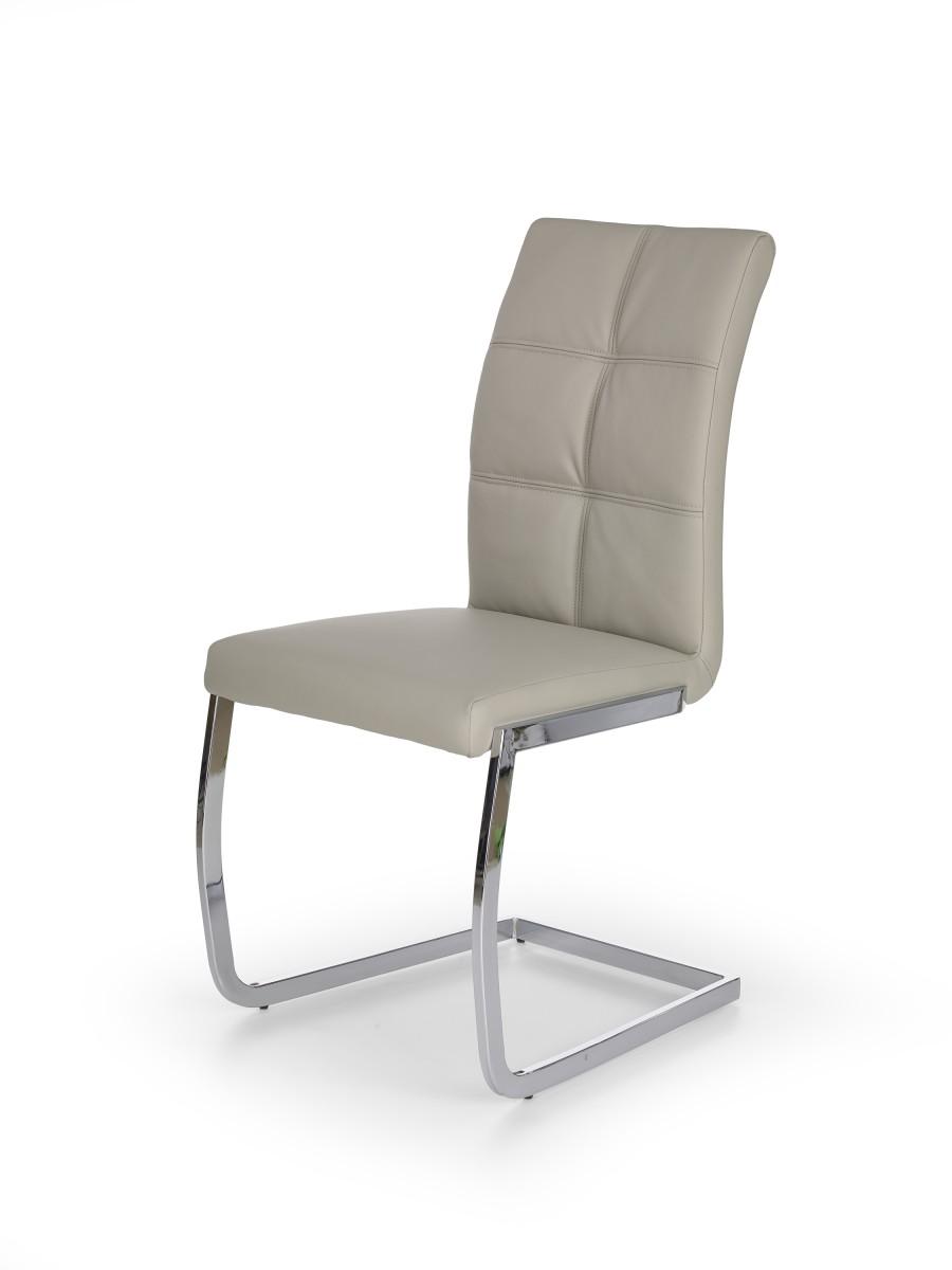 Halmar Jídelní židle Hermiona světle šedá