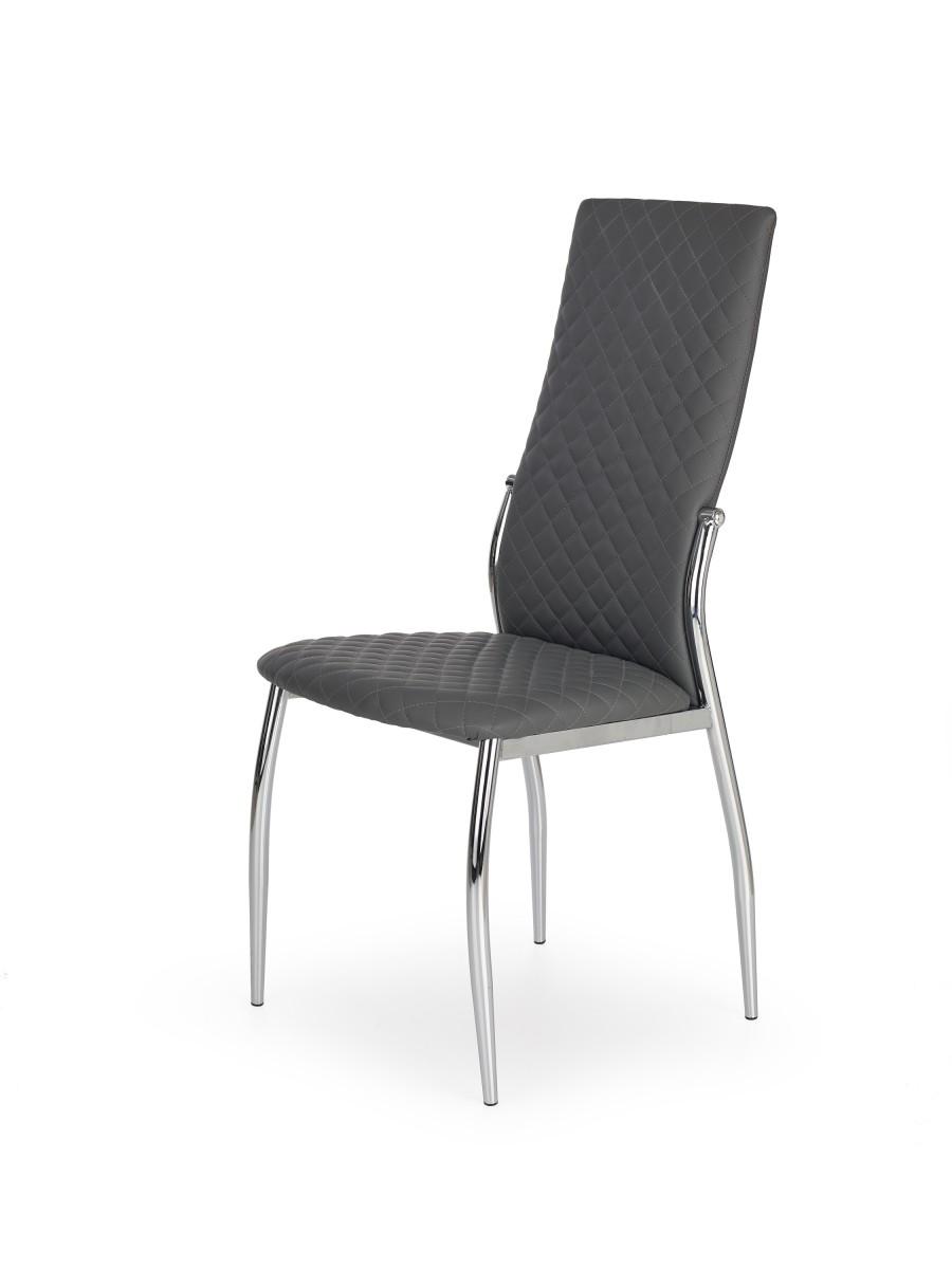 Halmar Jídelní židle Greydie šedá