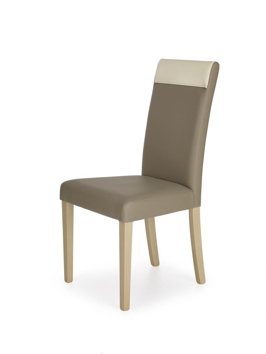 Halmar Jídelní židle Bero dub sonoma/béžová/krémová