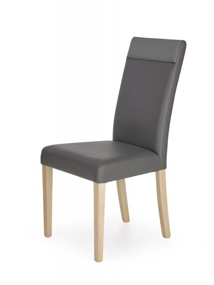 Halmar Jídelní židle Bero dub sonoma/šedá/světle šedá