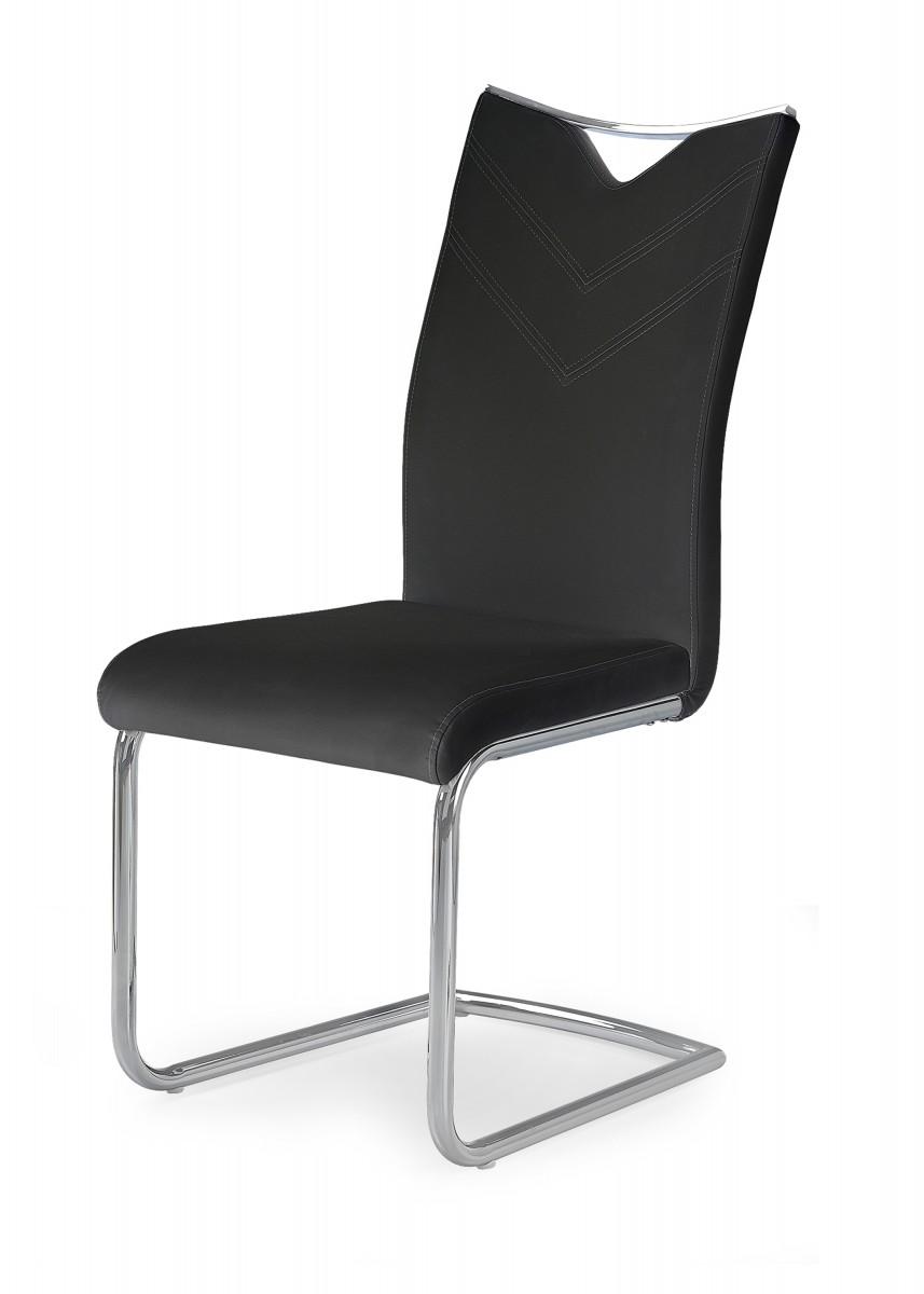 Halmar Jídelní židle Norby černá
