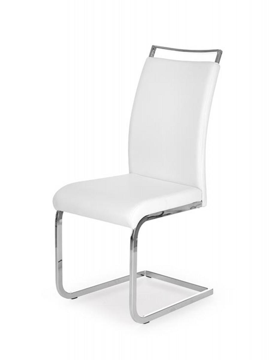 Halmar Jídelní židle Lara bílá