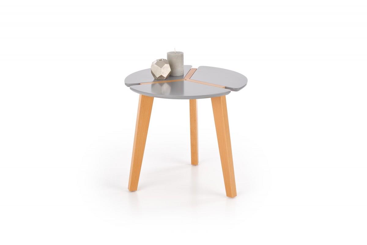 Halmar Konferenční stolek Zeta šedý