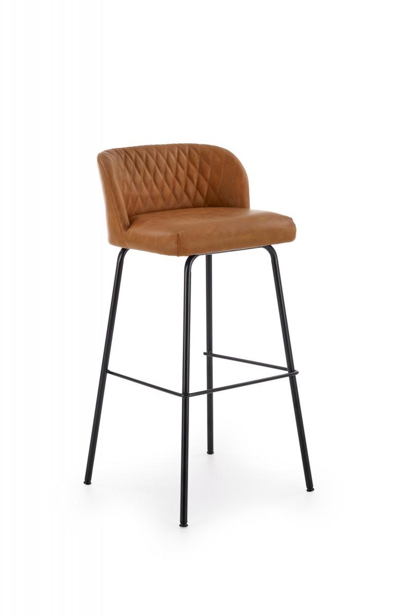 Halmar Barová židle Theo světle hnědá
