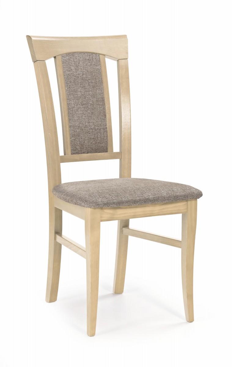Halmar Jídelní židle Rado dub sonoma/hnědá