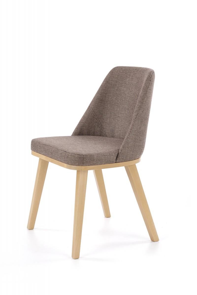 Halmar Jídelní židle Pulo dub medový/šedá