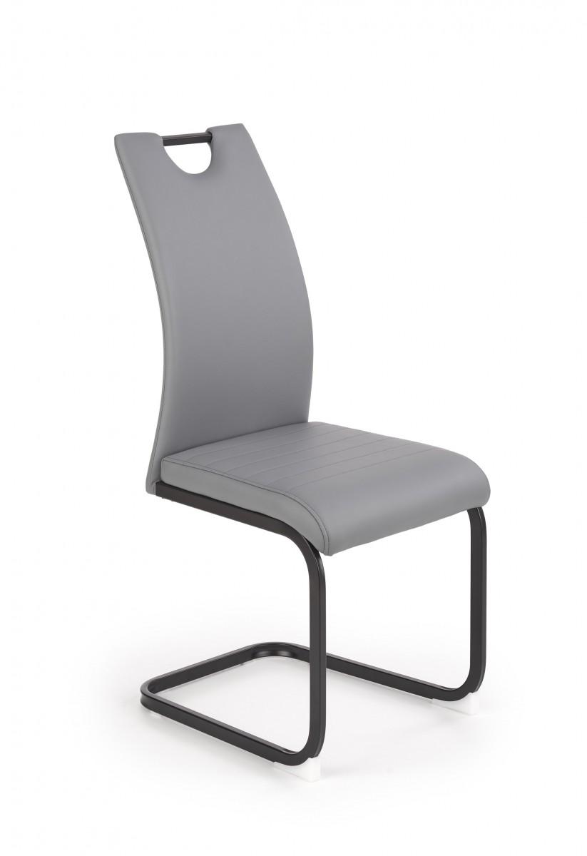Halmar Jídelní židle Zovy šedá
