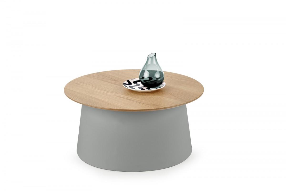 Halmar Konferenční stolek Azzura přírodní/šedý