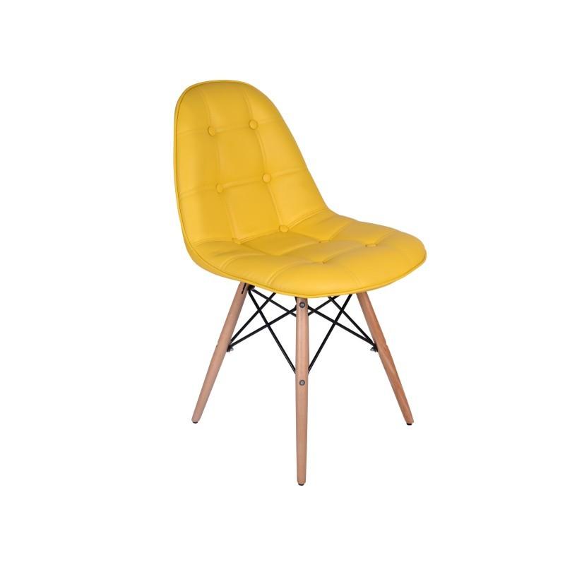 TZB Jídelní židle Lyon - žlutá