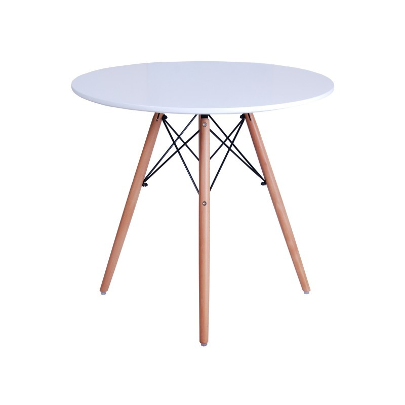 TZB Konferenční stolek Paris 80cm - bílý
