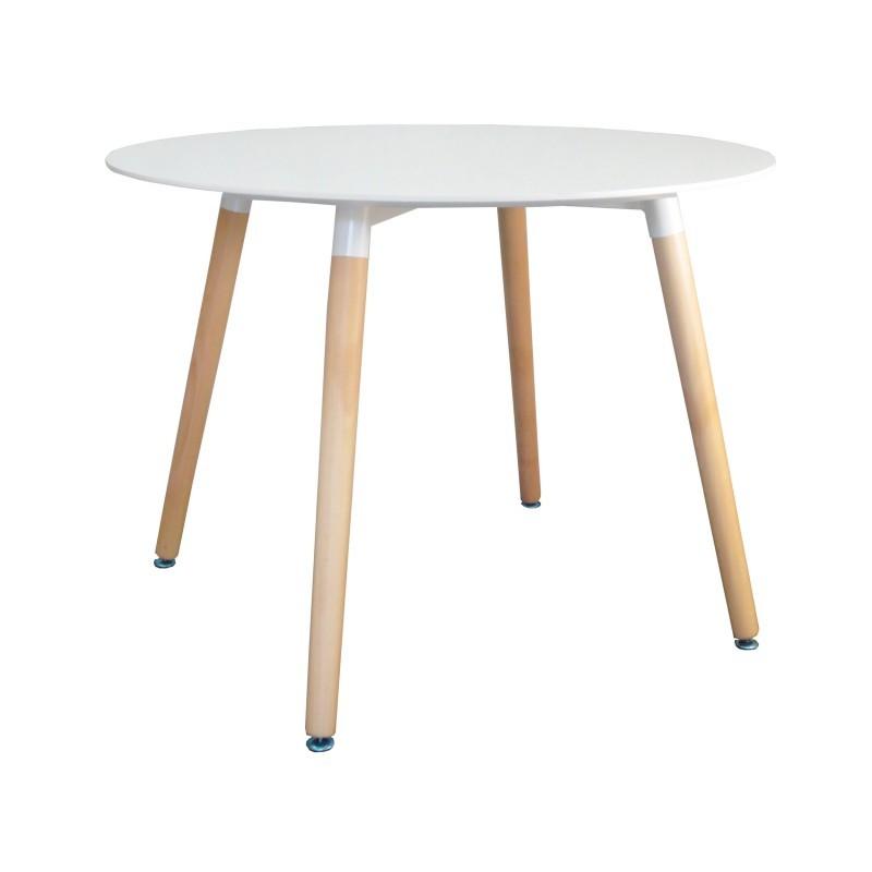 TZB Konferenční stolek Paris 100cm - bílý