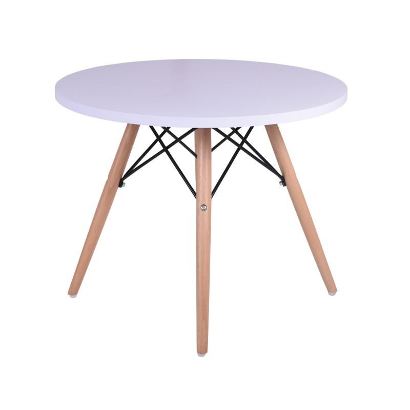 TZB Konferenční stolek Paris 60cm - bílý