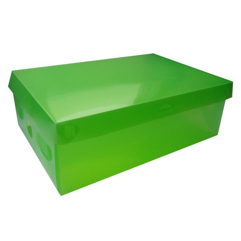 TZB Úložná krabice na boty vel. S - zelená
