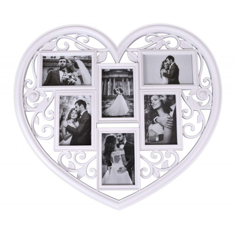 TZB Fotorámeček ve tvaru srdce Breva 10x15cm