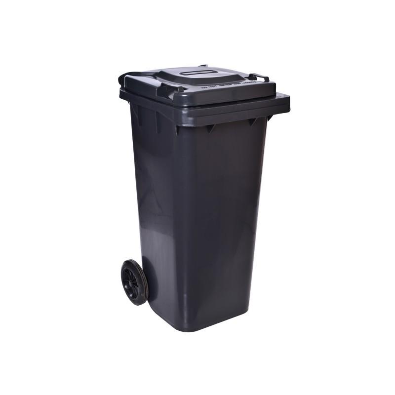 TZB Poplenice na odpady 120L- černá