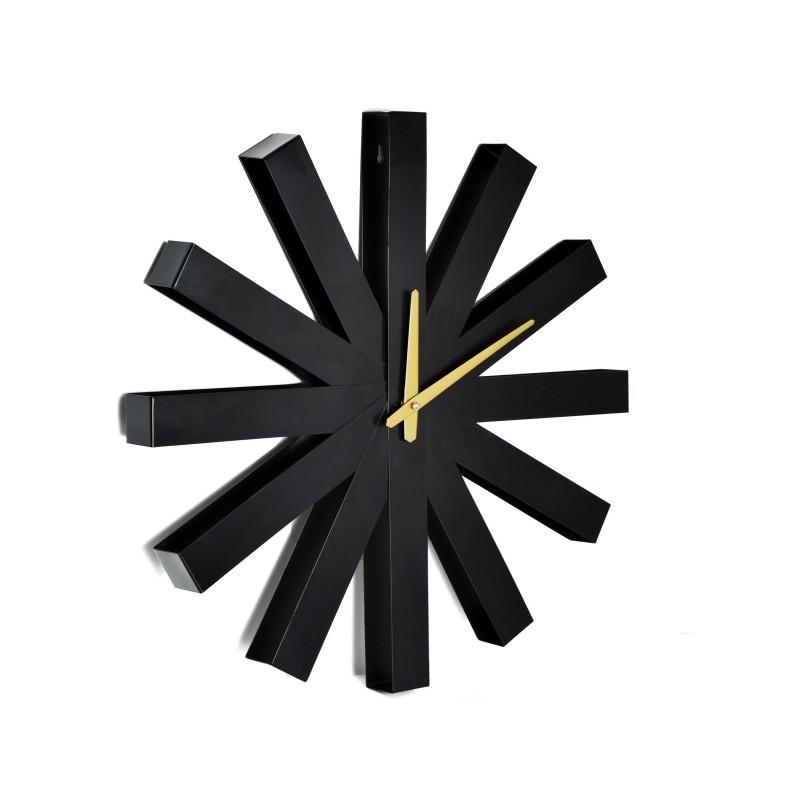 TZB Nástěnné hodiny Norweski Styl Trevlig - 50 cm černé