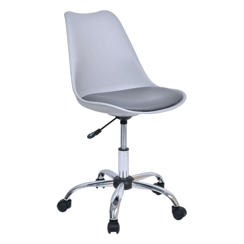 TZB Kancelářská židle Elmo - šedá
