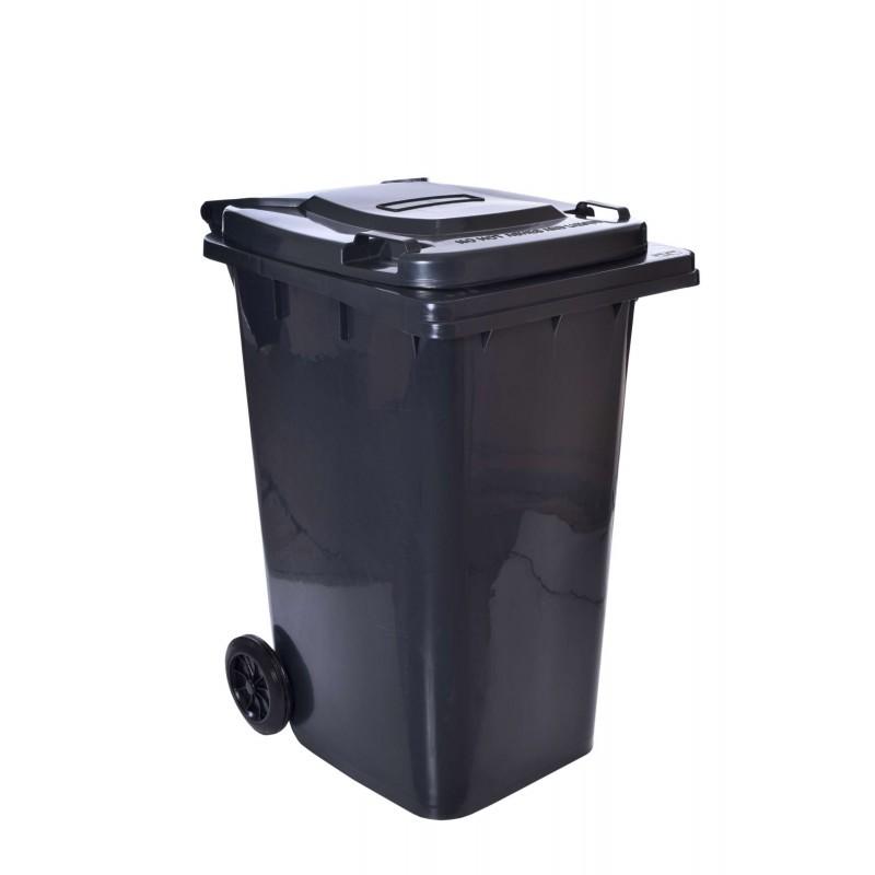 TZB Popelnice na odpady 240L - černá