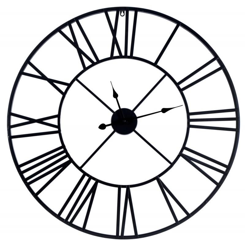 TZB Nástěnné hodiny ITALY 80 cm černé