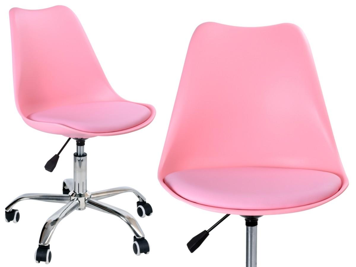 TZB Kancelářská židle EB-ELM růžová