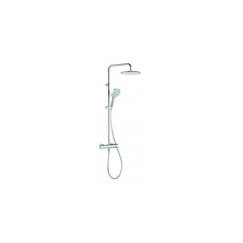 Sprchový set na stěnu KLUDI FRESHLINE - KLUDI DUAL s termostatem chromovaný 6709205-00