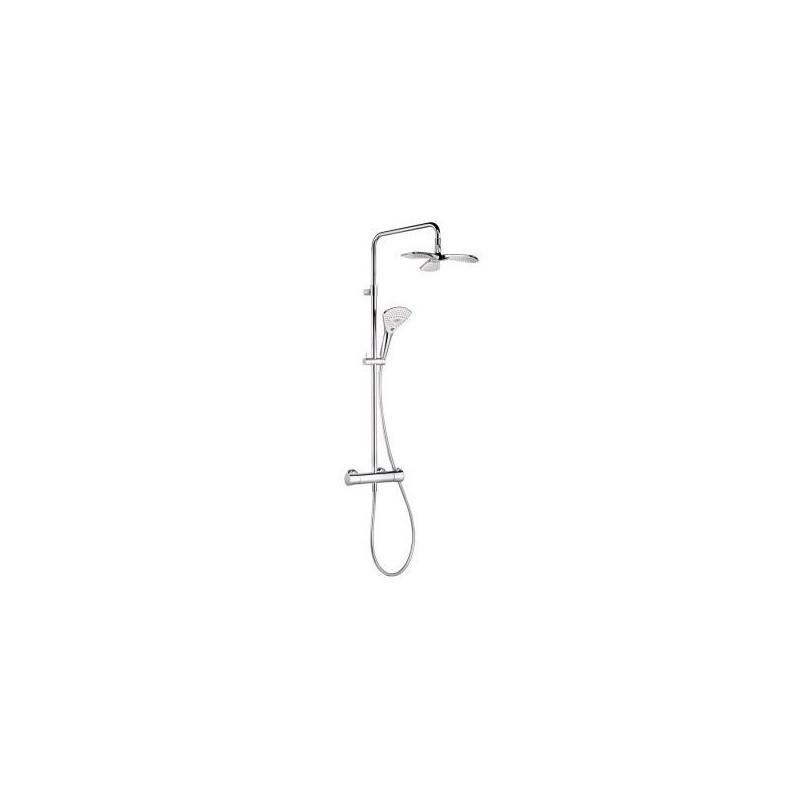 Sprchový set na stěnu KLUDI FIZZ - KLUDI DUAL chromovaný 6709605-00