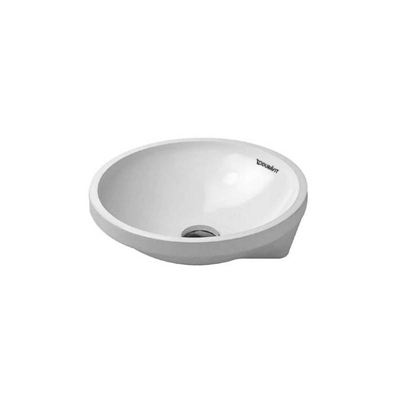 Keramické umyvadlo zápustné DURAVIT ARCHITEC 40 cm bílé