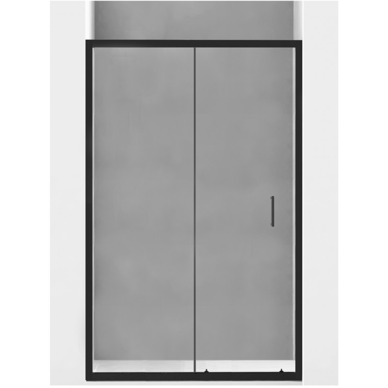 Sprchové dveře MEXEN 120 cm černé