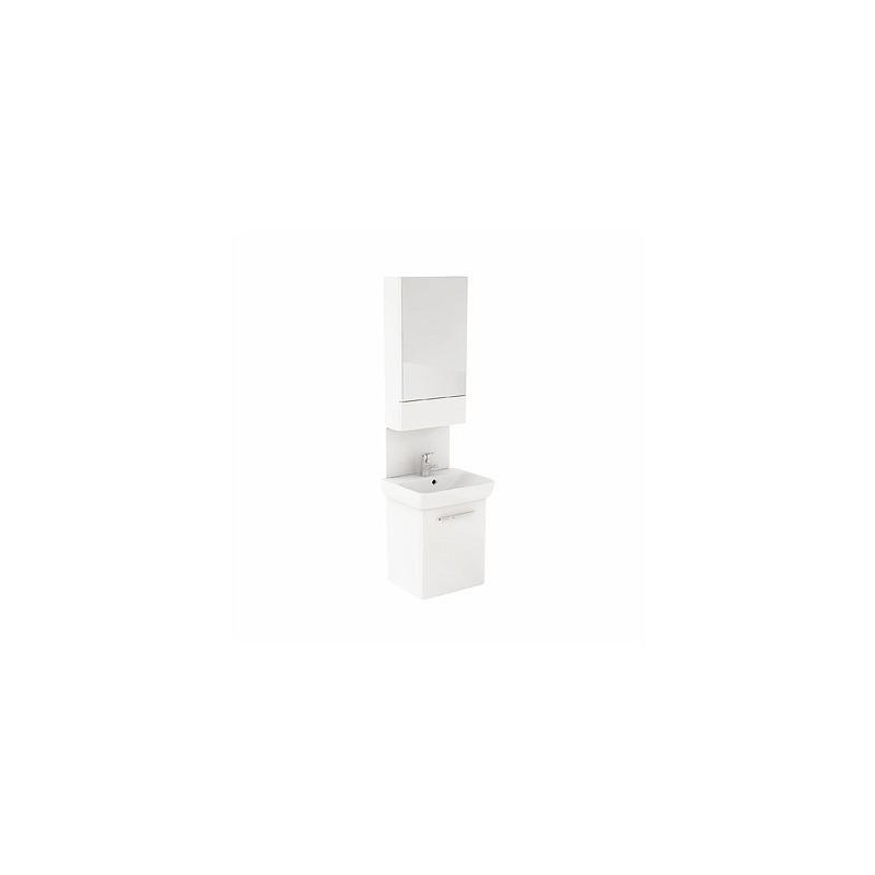 Umyvadlová skříňka s umyvdlem KOŁO NOVA PRO 50 cm - bílý lesk