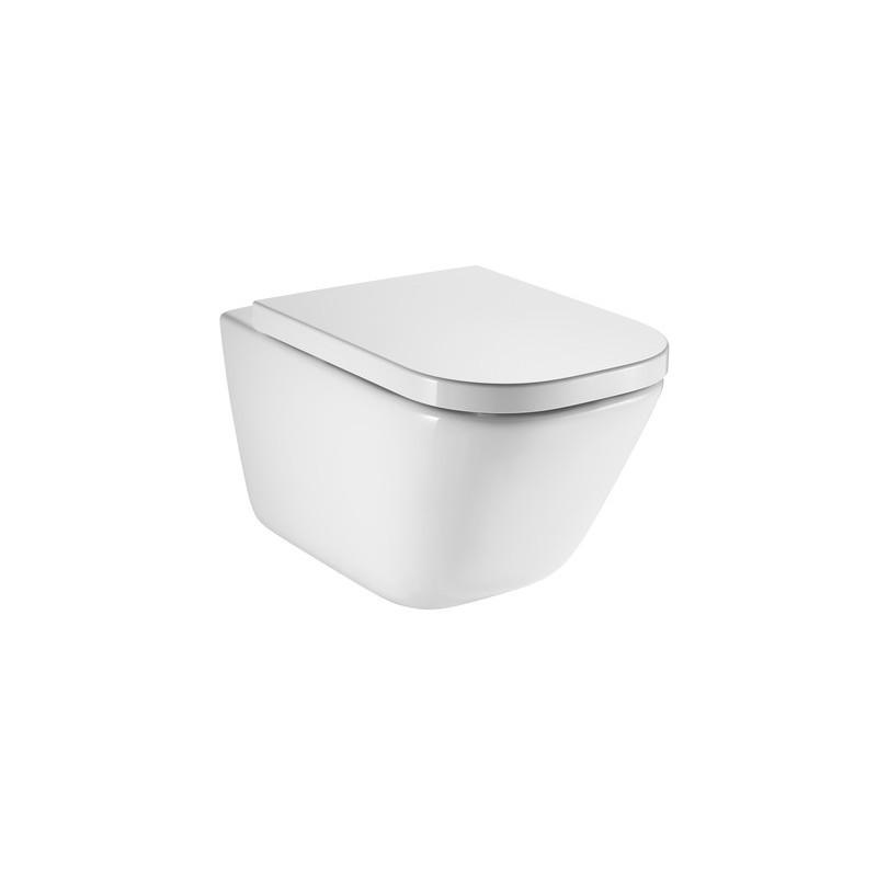Závěsná WC mísa ROCA GAP + prkénko LOLO