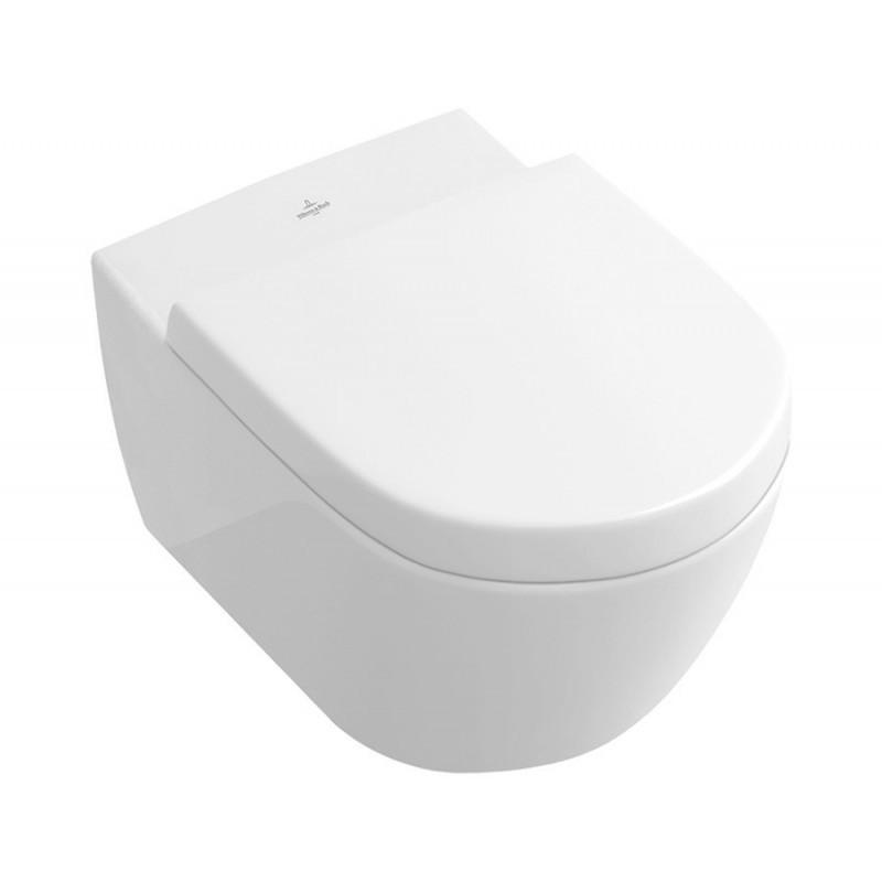 Levně VILLEROY&BOCH Závěsná WC mísa VILLEYBOCH + prkénko MILE